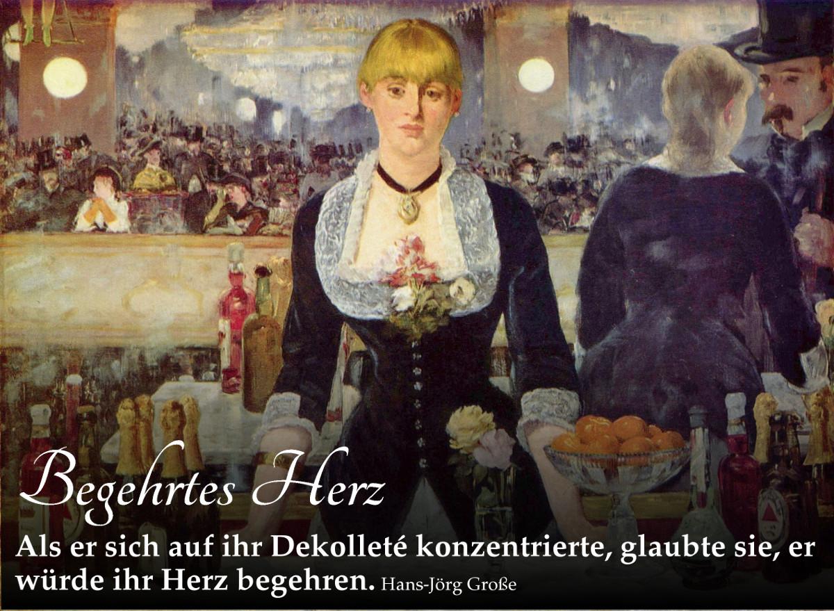 Begehrtes Herz ~ Aphorismen ~ Hans-Jörg Große