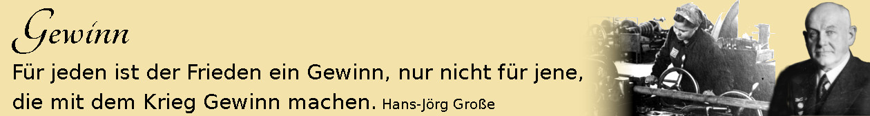 Gewinn ~ Aphorismen ~ Hans-Jörg Große