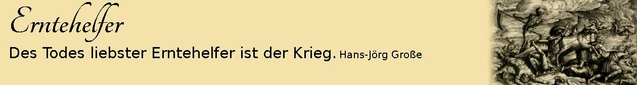 Erntehelfer ~ Aphorismen ~ Hans-Jörg Große