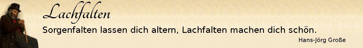 Lachfalten ~ Aphorismen ~ Hans-Jörg Große | Henryk Grombecki