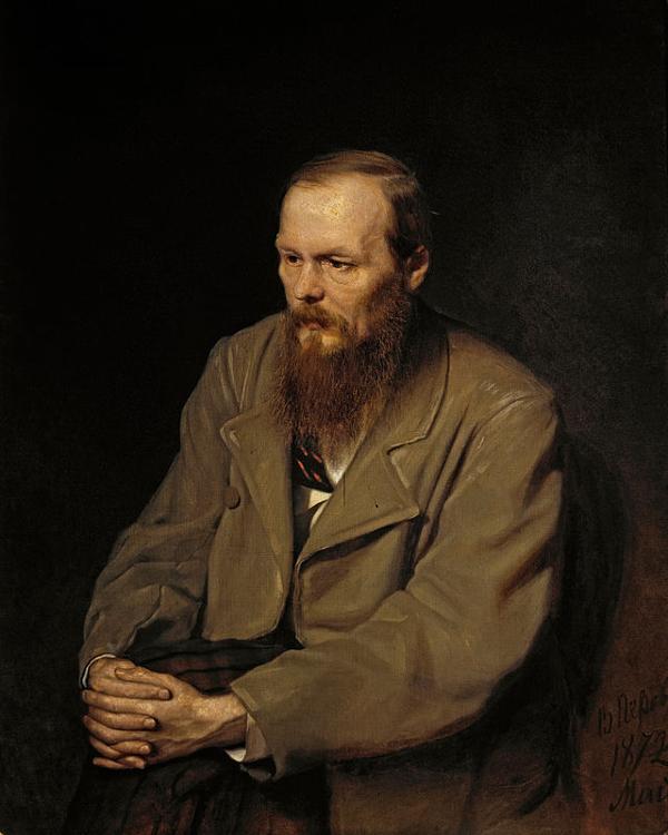 Vasily Perov ~ Fjodor Michailowitsch Dostojewski - 1872