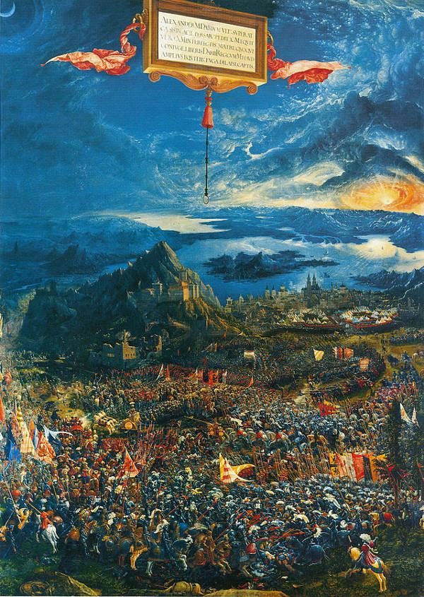 Albrecht-Altdorfer ~ Alexanderschlacht - 1528-29