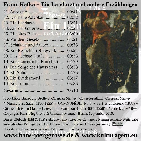 Franz-Kafka ~ Ein Landarzt und andere Erzählungen