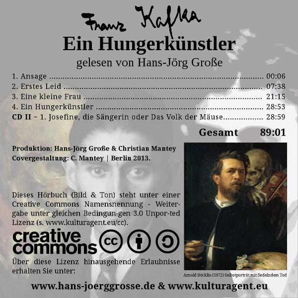 Franz Kafka ~ Ein Hungerkünstler - gelesen von Hans-Jörg Große