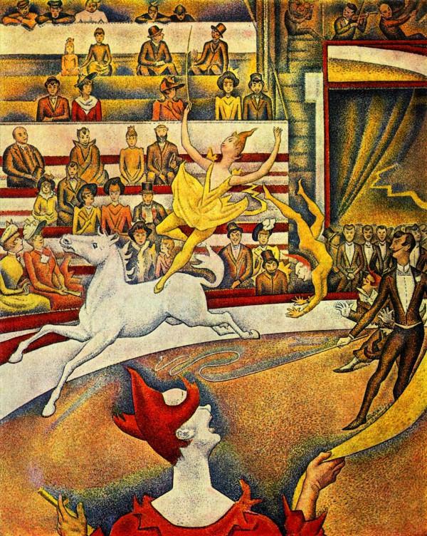 Georges Seurat ~ Der-Zirkus - 1891