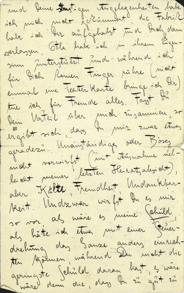 Franz Kakfa ~ Brief an den Vater ~ Seite 003