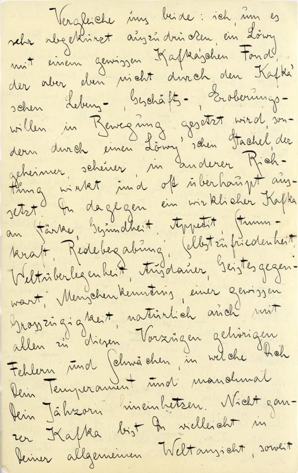 Franz Kakfa ~ Brief an den Vater ~ Seite 007