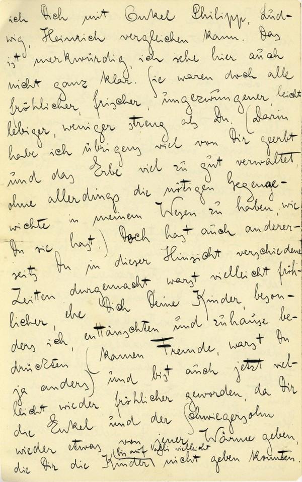 Franz Kakfa ~ Brief an den Vater ~ Seite 008