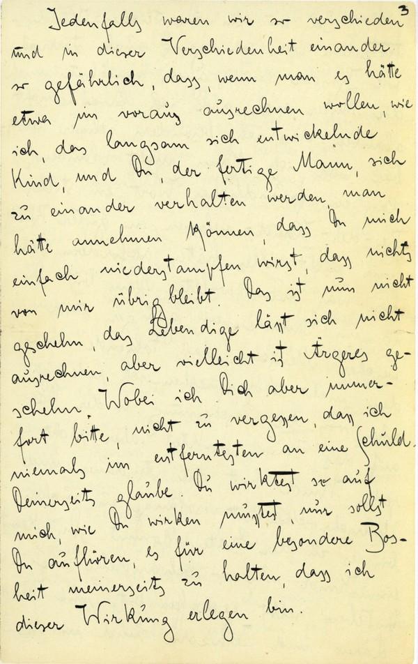 Franz Kakfa ~ Brief an den Vater ~ Seite 009
