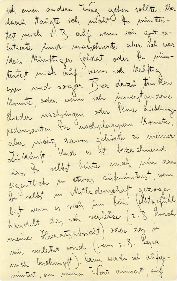Franz Kakfa ~ Brief an den Vater ~ Seite 014