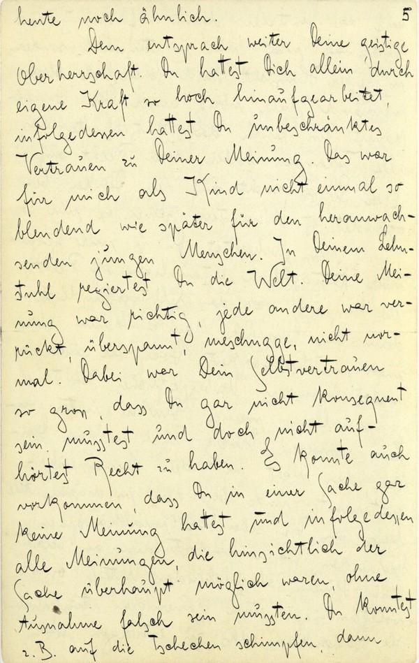 Franz Kakfa ~ Brief an den Vater ~ Seite 017