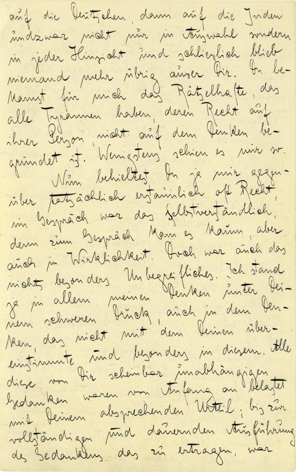 Franz Kakfa ~ Brief an den Vater ~ Seite 018