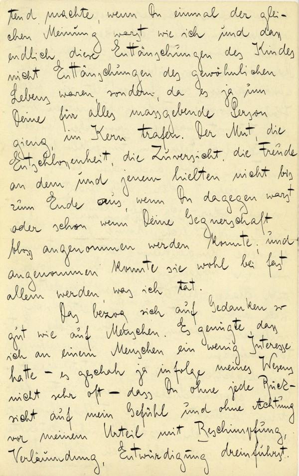 Franz Kakfa ~ Brief an den Vater ~ Seite 020