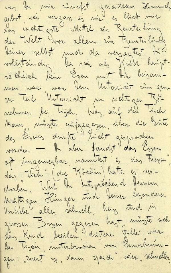 Franz Kakfa ~ Brief an den Vater ~ Seite 023