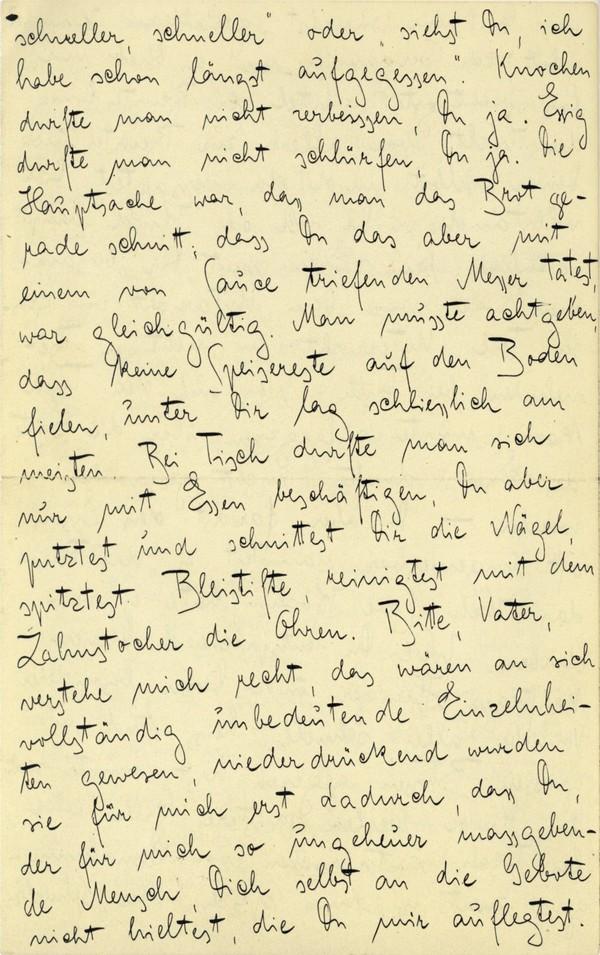 Franz Kakfa ~ Brief an den Vater ~ Seite 024