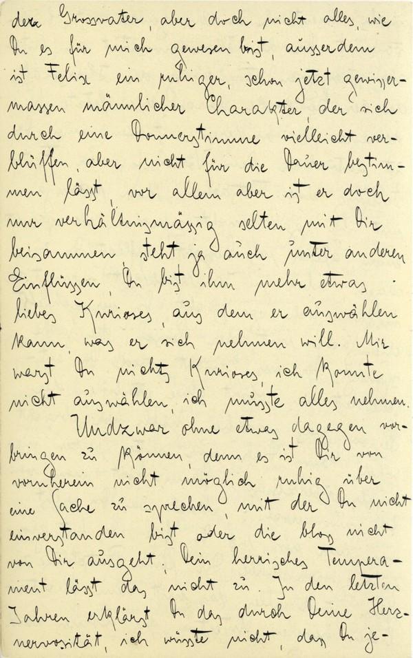 Franz Kakfa ~ Brief an den Vater ~ Seite 027