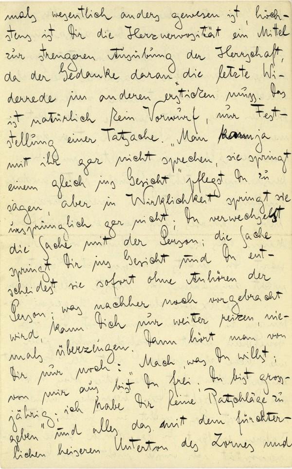 Franz Kakfa ~ Brief an den Vater ~ Seite 028