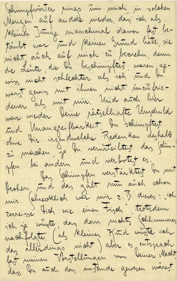 Franz Kakfa ~ Brief an den Vater ~ Seite 032