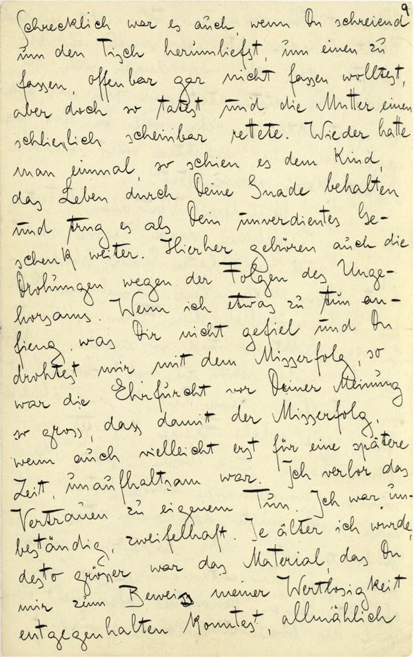 Franz Kakfa ~ Brief an den Vater ~ Seite 033