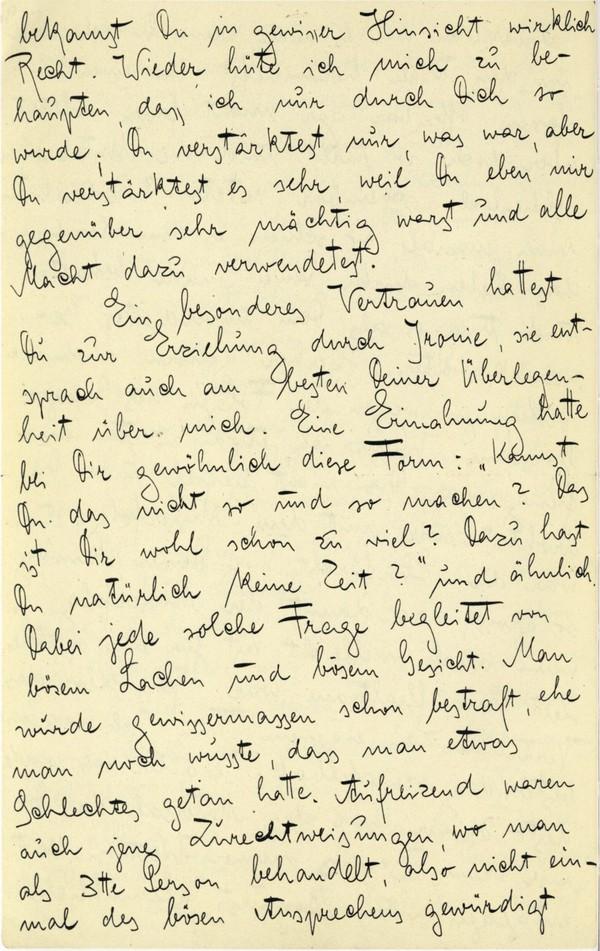 Franz Kakfa ~ Brief an den Vater ~ Seite 034