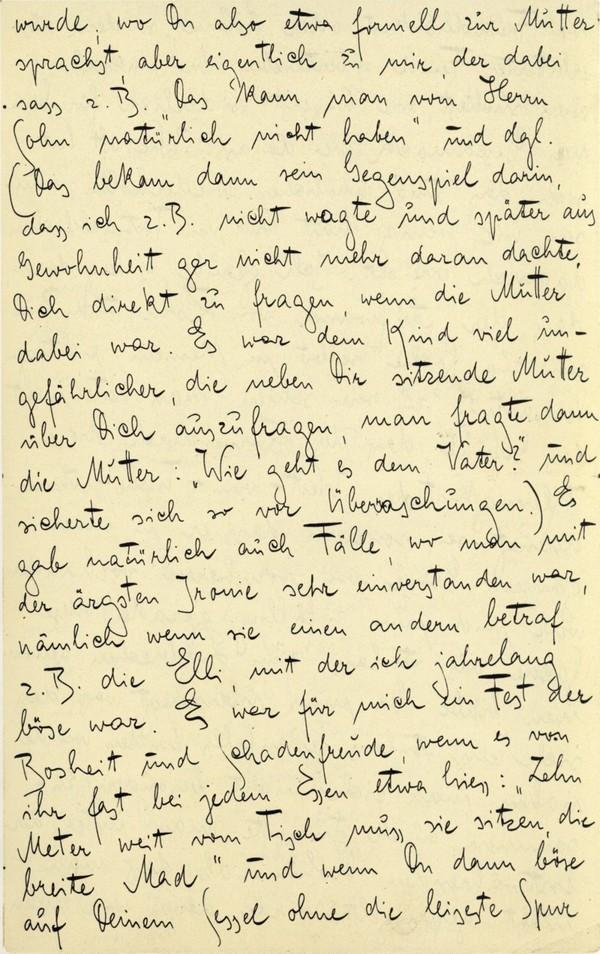 Franz Kakfa ~ Brief an den Vater ~ Seite 035