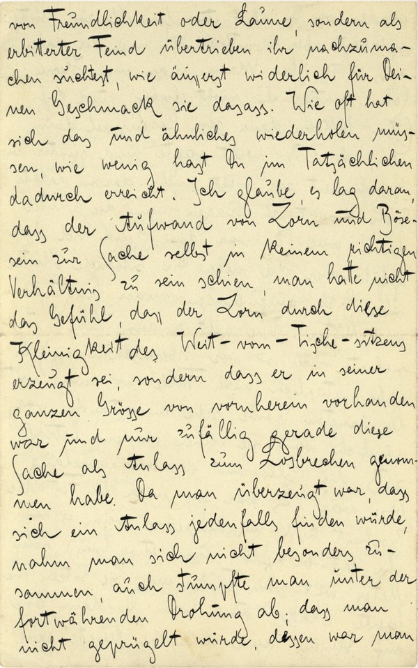 Franz Kakfa ~ Brief an den Vater ~ Seite 036
