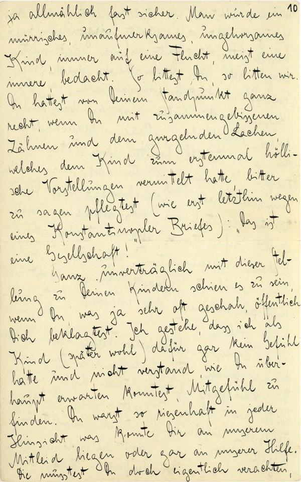 Franz Kakfa ~ Brief an den Vater ~ Seite 037