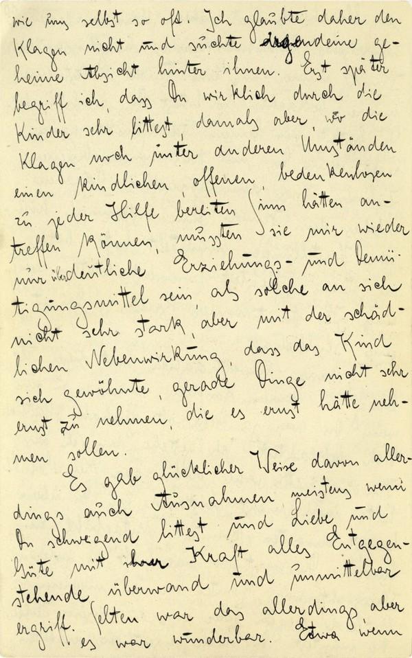 Franz Kakfa ~ Brief an den Vater ~ Seite 038
