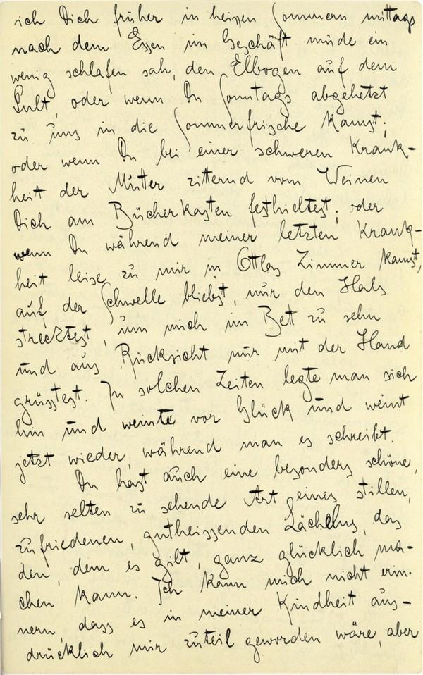 Franz Kakfa ~ Brief an den Vater ~ Seite 039