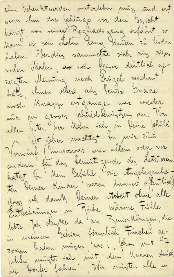 Franz Kakfa ~ Brief an den Vater ~ Seite 044