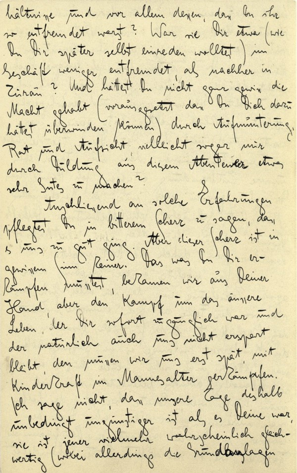 Franz Kakfa ~ Brief an den Vater ~ Seite 047