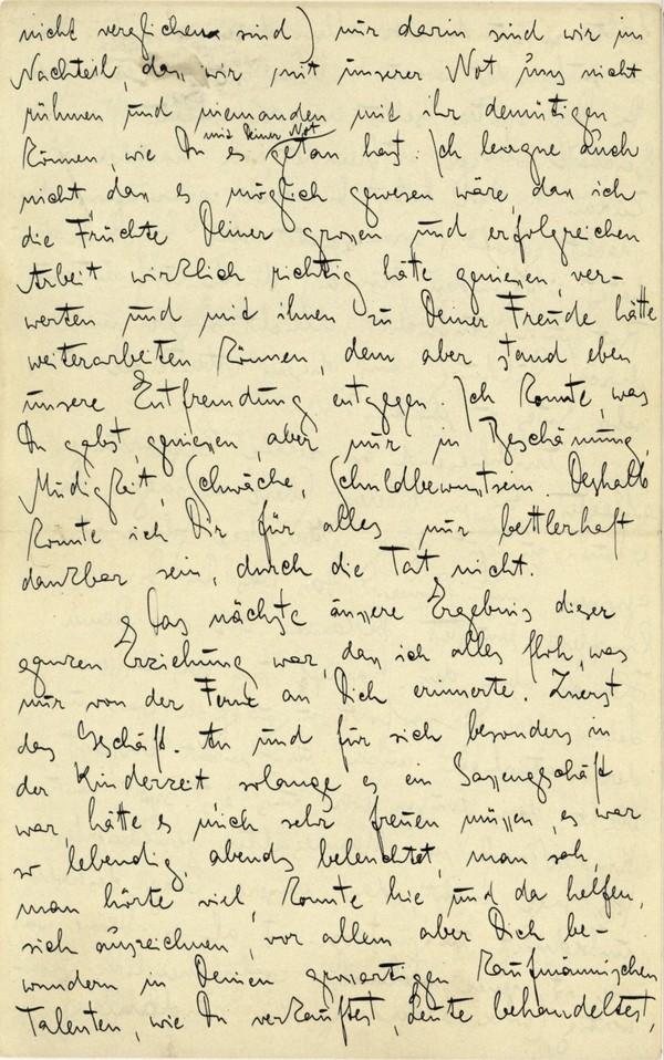 Franz Kakfa ~ Brief an den Vater ~ Seite 048
