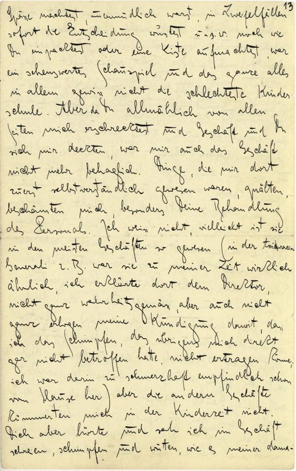 Franz Kakfa ~ Brief an den Vater ~ Seite 049