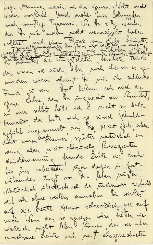 Franz Kakfa ~ Brief an den Vater ~ Seite 050