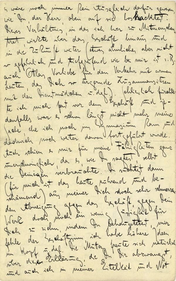 Franz Kakfa ~ Brief an den Vater ~ Seite 052