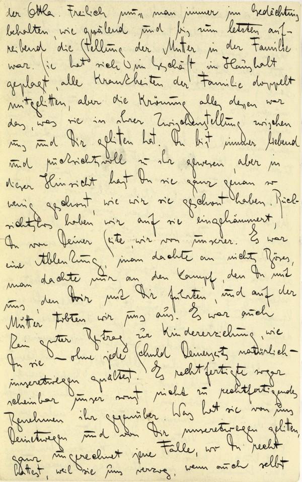 Franz Kakfa ~ Brief an den Vater ~ Seite 054