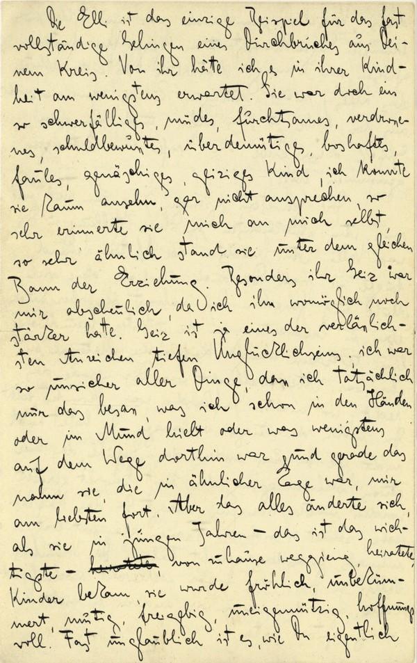 Franz Kakfa ~ Brief an den Vater ~ Seite 056