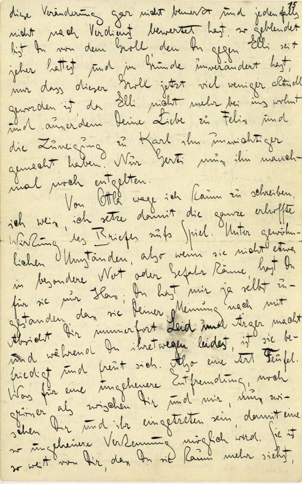 Franz Kakfa ~ Brief an den Vater ~ Seite 057