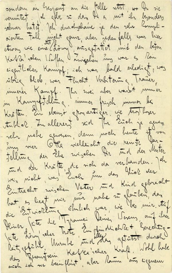 Franz Kakfa ~ Brief an den Vater ~ Seite 058