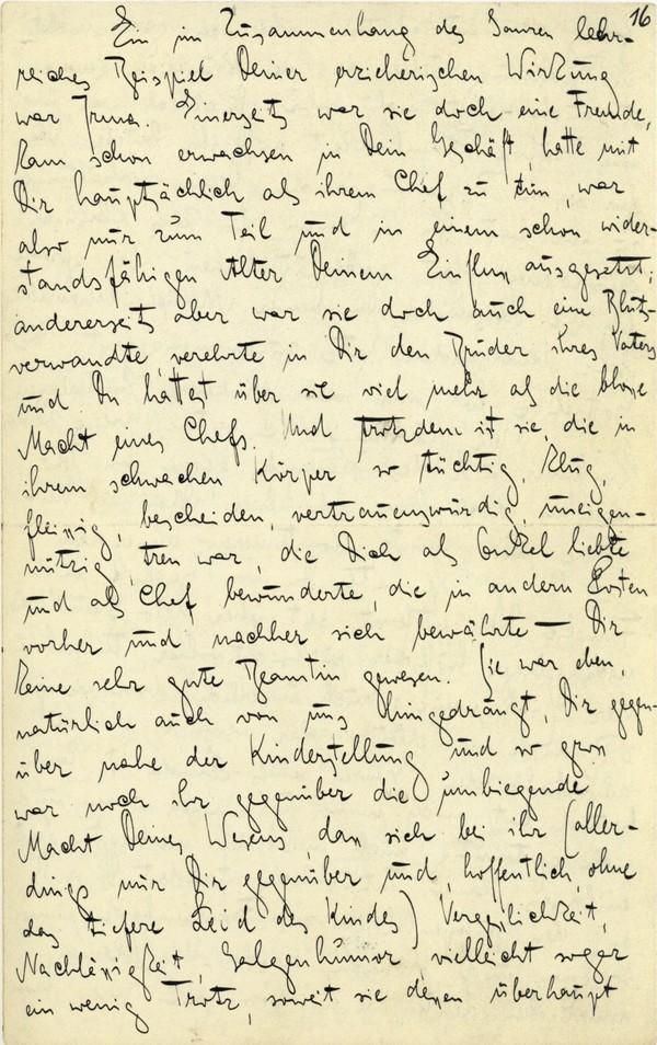 Franz Kakfa ~ Brief an den Vater ~ Seite 061