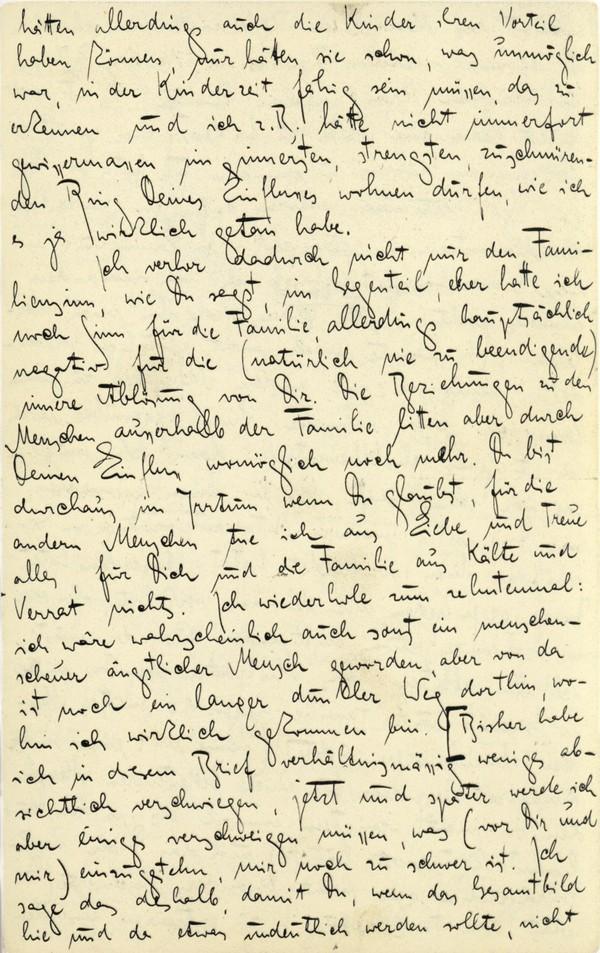 Franz Kakfa ~ Brief an den Vater ~ Seite 063