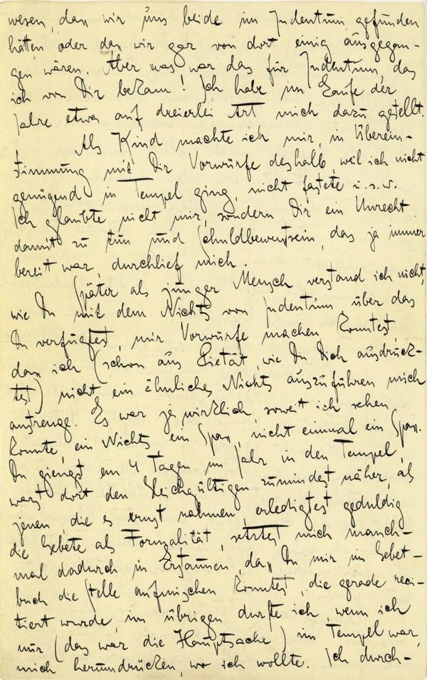 Franz Kakfa ~ Brief an den Vater ~ Seite 066