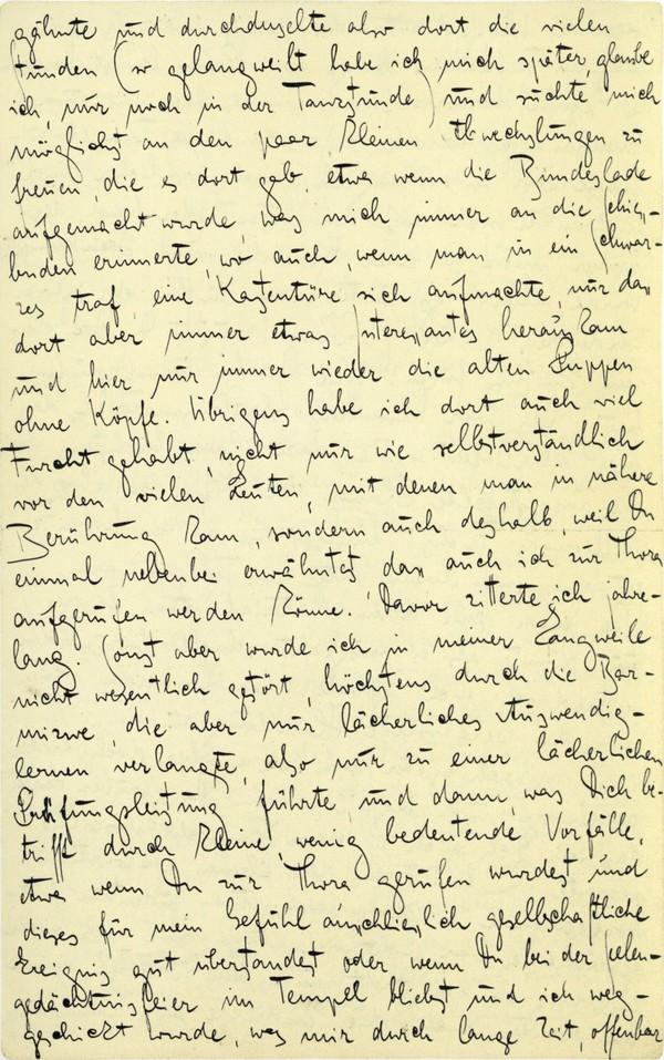 Franz Kakfa ~ Brief an den Vater ~ Seite 067