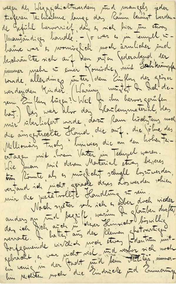 Franz Kakfa ~ Brief an den Vater ~ Seite 068