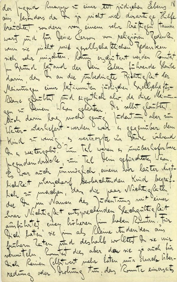 Franz Kakfa ~ Brief an den Vater ~ Seite 069