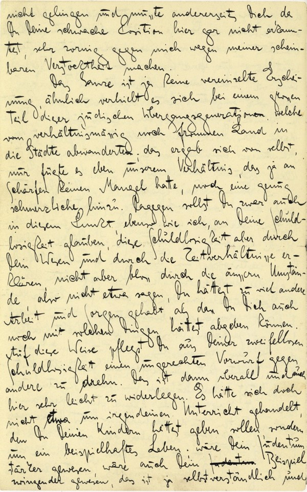 Franz Kakfa ~ Brief an den Vater ~ Seite 070