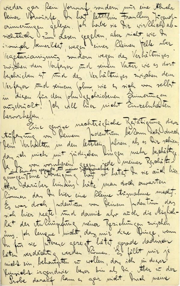 Franz Kakfa ~ Brief an den Vater ~ Seite 071