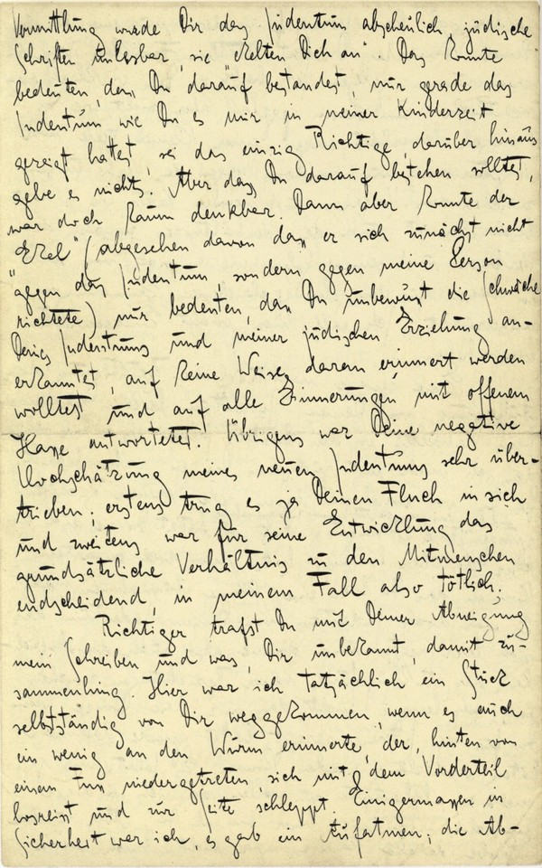 Franz Kakfa ~ Brief an den Vater ~ Seite 072