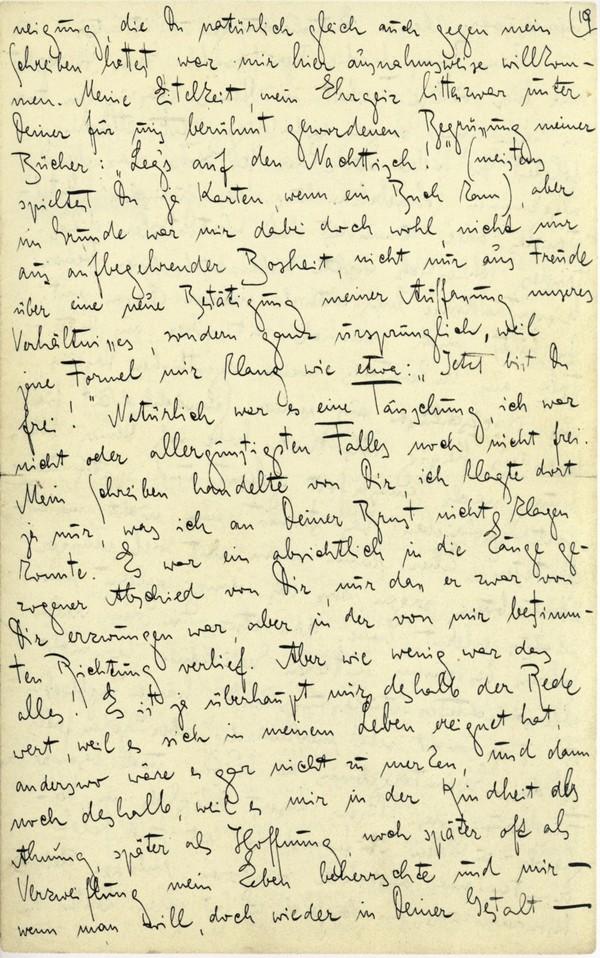Franz Kakfa ~ Brief an den Vater ~ Seite 073