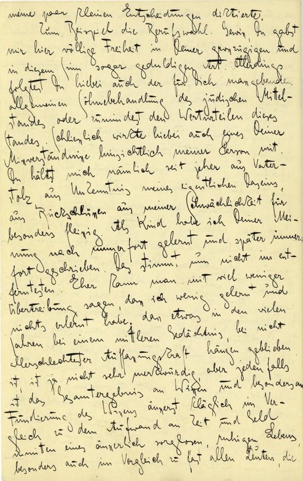 Franz Kakfa ~ Brief an den Vater ~ Seite 074